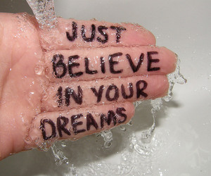 believe, just, and wet image