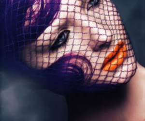 Amanda Norgaard, fishnet, and hair image