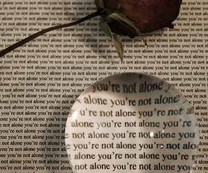 alone and rose image