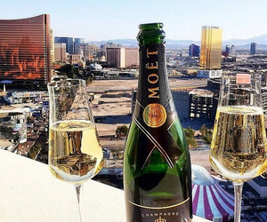 champagne, city, and moet image