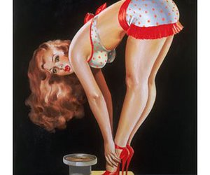 fashion, Pin Up, and style image