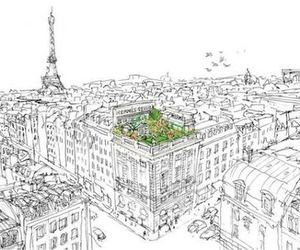 paris, drawing, and hermes image