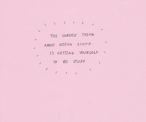 quotes, pink, and text image