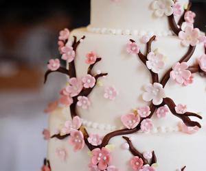 cake, nice, and flower image