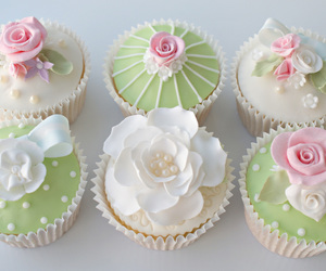 cupcakes, dessert, and sweets image