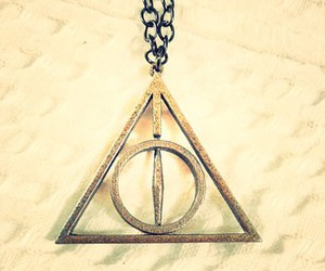 deathly hallows, harry potter, and hipster image