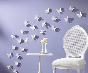butterfly, home, and room image