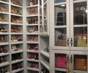 shoes, closet, and bag image