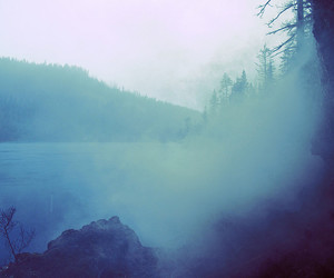 blue and fog image