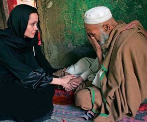 Angelina Jolie and help image