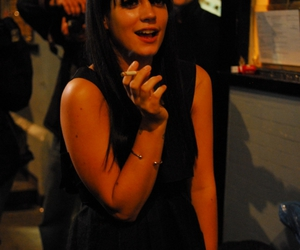 lily allen, london, and the groucho club image