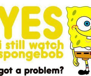 spongebob, quote, and text image