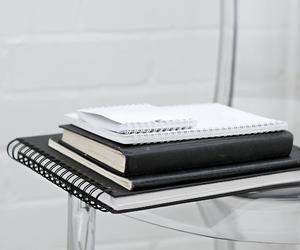 notebook and simple image