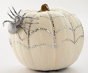 Halloween, pumpkin, and spider image