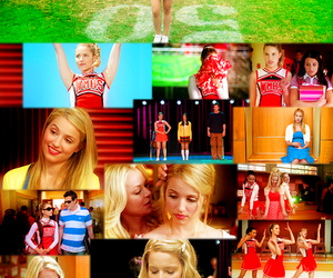 glee, Quinn, and dianna image