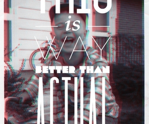 3d, photography, and typography image