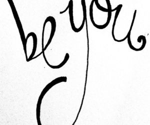 be you and quote image
