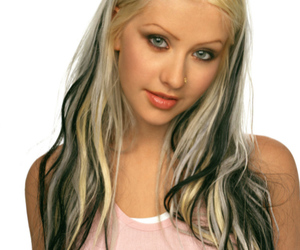christina aguilera, xtina, and hair image