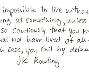 quotes, jk rowling, and text image