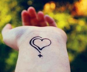 heart, katy perry, and tattoo image