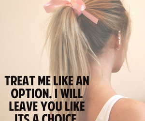 girl, quote, and option image