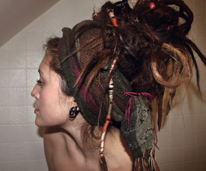 beautifull, dreads, and wool image