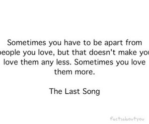 love, quote, and the last song image