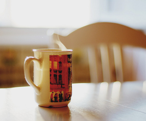 cup, breakfast, and coffee image