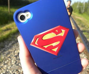 superman, cool, and case image