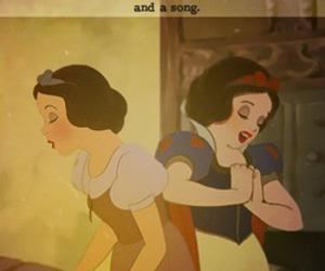 beautiful, disney, and snow white image