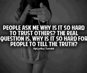 quote, truth, and trust image