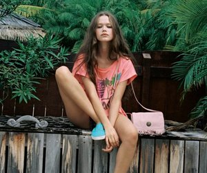 girl, summer, and shoes image