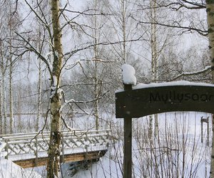 finland, snow, and suomi image