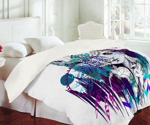 bed, Dream, and catcher image