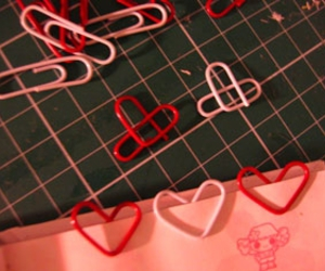 heart and paperclip image