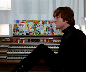 john lennon, the beatles, and music image