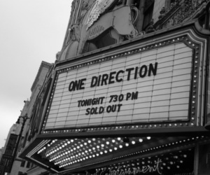 one direction, black and white, and sold out image