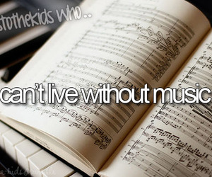 music, text, and tumblr image
