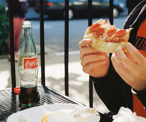 pizza, vintage, and food image