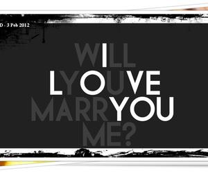 love, I Love You, and marry image