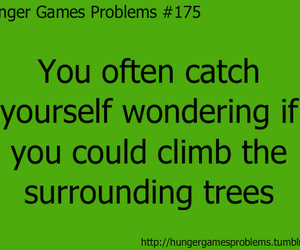 hunger games and hunger games problems image