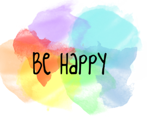 happy, be happy, and colors image