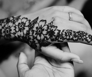 beautiful, beauty, and henna image