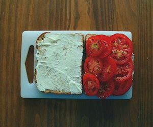 tomato, food, and sandwich image