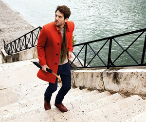 man, red, and style image