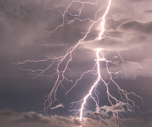 lightning, storm, and nature image