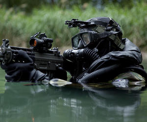 us army, idf, and combat diver image