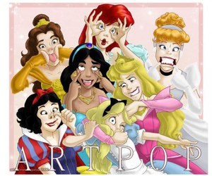 princess, disney, and funny image