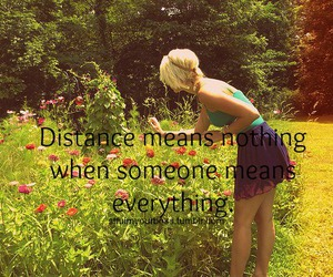 flowers, girl, and quotes image