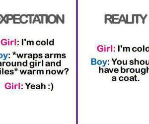 girl, boy, and reality image